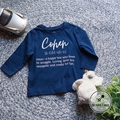 Kids Name Definition T-shirt Kids name tee name meaning