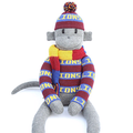 Footy Sock Monkey  - LIMITED TEAMS AVAILABLE, SO PLEASE CHECK - *MADE TO ORDER*
