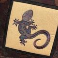 Australiana cushion cover - Gecko