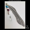 BELIEVE - silver colour bookmark 