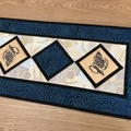 Australiana table runner - Kookaburra