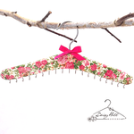 Floral Necklace Hanger / Organiser