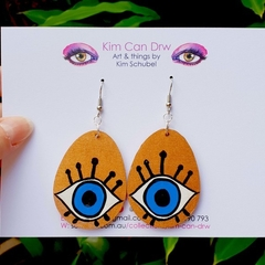 Evil eyes - dangles