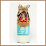 LARGE RAINBOW OAT Cookie Mix in a bottle. Makes 12 delicious cookies.