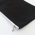 Mother's day gift , Black Cosmetic Bag for Mums , Gift for Mom , Mother of the B
