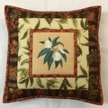 Australiana cushion cover - 'Tasmanian Blue Gum'