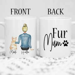 Personalised Dog mum Mug for Dog Lover Gift, Gift For Dog Mum , Custom Dog Mug ,