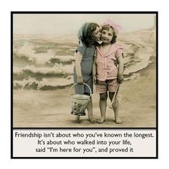 Heartfelt Magnet | Friend Gift | I'm here for you