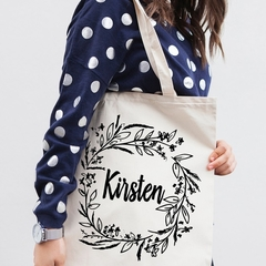 Bridesmaid Tote Bags , Personalised wedding Tote Bag , Bridal Party Gifts , Brid