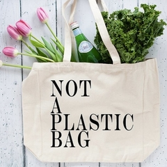 Eco Friendly Reusable Grocery Bag , Diaper Bag , Large Tote Bag , Market Bag , N