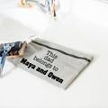 Fathers Day Gift - Men Zipper Bag - Men toiletry bag - Grooming Bag - Boyfriend