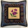 Australiana cushion cover - COOKTOWN ORCHID