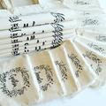 Custom Floral Tote Bag , Monogrammed Bag , Personalized Tote Bag , Bridesmaid Gi