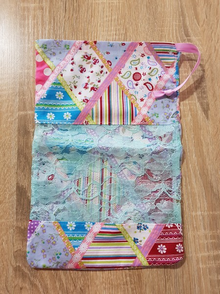 Patchwork Dance Shoe Bag