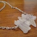 Crystal Quartz Gemstone Necklace