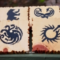 Game Of Thrones Inspired Reclaimed Timber Drink Coasters