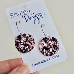Chunky Glitter Orb Earrings
