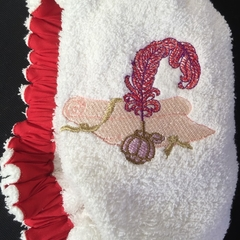 Ladies After Shower Towel Cap-Elegance 1/1