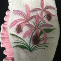 Ladies After Shower Towel Cap-Orchid 1/2