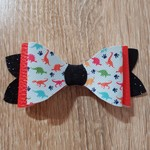 Faux Leather Bow