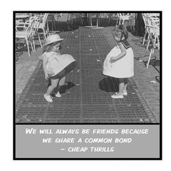 Funny Magnet | Friend Gift | We will always be friends