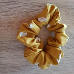 Mustard coloured Bunny Scrunchie