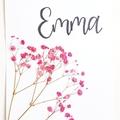Nursery Decor || Pressed botanicals, baby room, baby shower gift, floral art