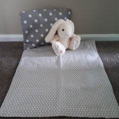 NEUTRAL DOTS - Nappy Change Mat Set - Baby