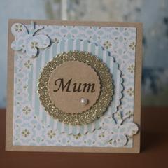 Mini Mum Card Inspirational Card Just Because Card Mum's Birthday Card