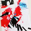 Art card, bold colour, original design, contemporary, abstract - Friday Five