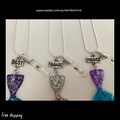 ~ BEST FRIENDS FOREVER 2019 ~ Mermaid necklace ~ set of 3 ~
