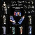 Keyring Chapstick or Lipstick Holder