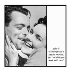 Funny Vintage Photo Magnet | Husband Wife Partner Gift | Anniversary