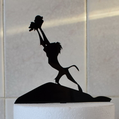 Lion King - Pride Rock - Cake Topper