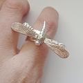 Dragonfly Adjustable Ring