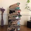 Recycled Coffee Burlap Bag.  Grocery/Shopping Tote -  Waterproof Green Apples