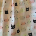 Made to order flutter sleeve kitty dress, sizes newborn to 12 months