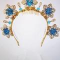 Q U E E N • A L E X A N D R A Crown,Tiara, Leaf Halo, Gold Headpiece