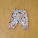 Grey feather pants, sizes 3 months to 24 months, select your size