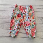 Size 3-6 months floral pants, baby girl clothes size 00