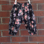 Baby girl pants, sizes NB to 2, choose your size, rose floral pants