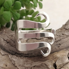 FORK RING. Sterling Silverware Jewellery.