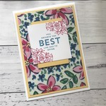 Floral Get Well Card, Just Because, Thinking of You, Congratulations