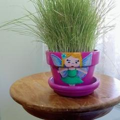 Grass Head: Fifi  Fairy