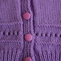 SIZE 3 (+) - Hand knitted cardigan