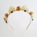 AVIVA Crown,Fascinator,Tiara, Headpiece