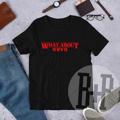What about Barb? -White unisex tee (Stranger Things)