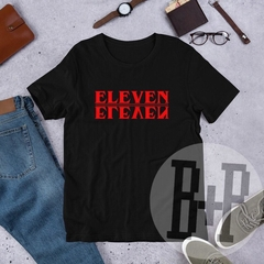 Eleven - Black unisex tee (Stranger Things)