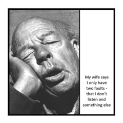 Funny Relationship Magnet | Partner Wife Husband Gift | I only have two faults