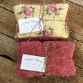 Upcycled Natural Heat Pack Lavender and Rice